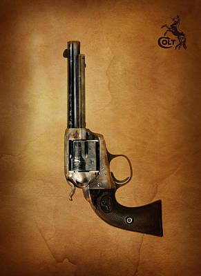 Colt Bisley Art Print by Mark Rogan