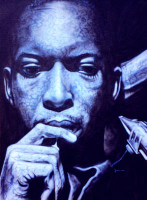 Coltrane Print by Mike Underwood