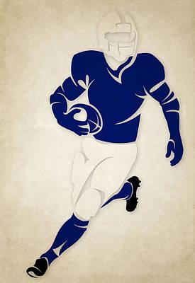 Indianapolis Photograph - Colts Shadow Player by Joe Hamilton