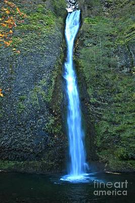 Photograph - Columbia Gorge Horsetail by Adam Jewell