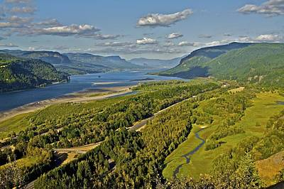 Columbia Gorge Art Print