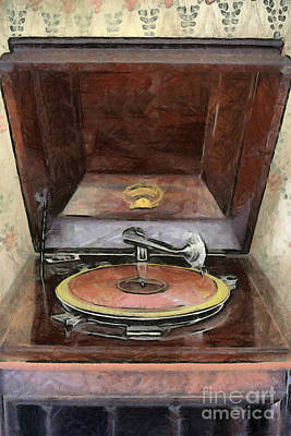 Photograph - Columbia Grafonola Victrola by Liane Wright