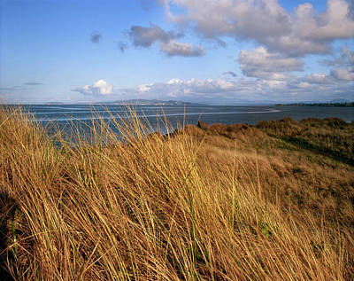 State Parks In Oregon Photograph - Columbia River From Clatsop Spit, Fort by Panoramic Images