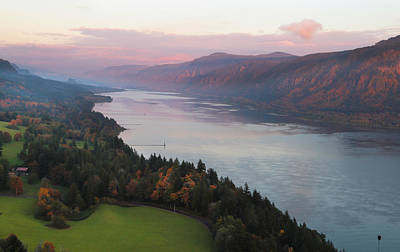 Vogel Wall Art - Photograph - Columbia River Gorge by Angie Vogel