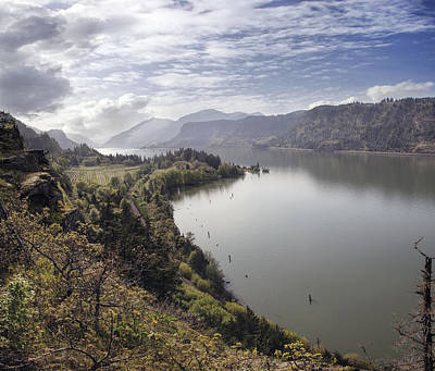 Caravaggio - Columbia River Gorge at Hood River by Jit Lim