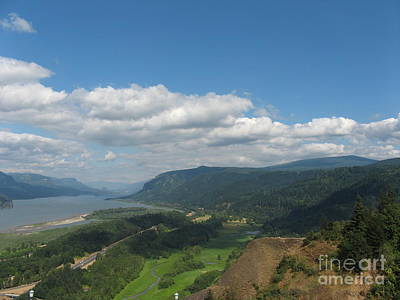 Photograph - Columbia River Gorge by Marlene Rose Besso