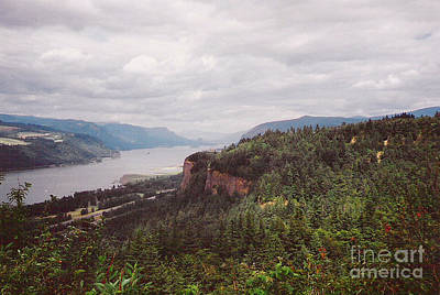 Columbia River Photograph - Columbia River Gorge Storm by Charles Robinson