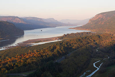 Photograph - Columbia River Gorge by Teresa Hunt