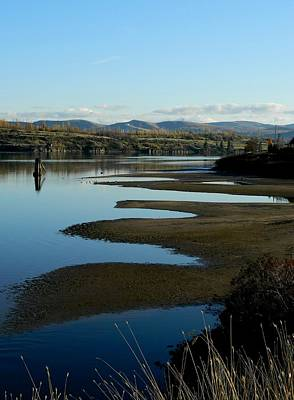 Photograph - Columbia River Sandbar by Jacqueline  DiAnne Wasson