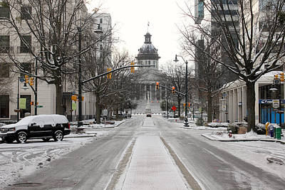 Photograph - Columbia Snow 2014 by Joseph C Hinson Photography