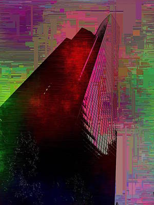 Digital Art - Columbia Tower Cubed 3 by Tim Allen