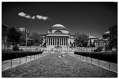 Columbia University Art Print by Georgia Fowler