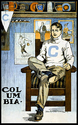 Photograph - Columbia University Poster, John E by Science Source