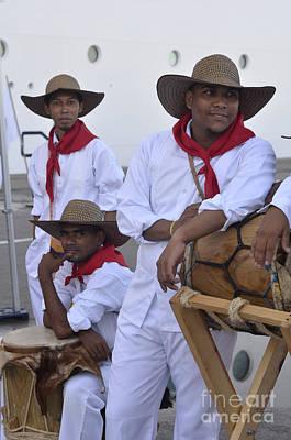 Digital Art - Colombian Boys by Leo Symon