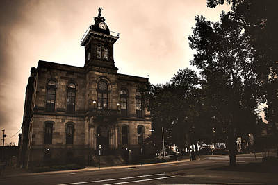 Photograph - Columbiana County Courthouse by Michelle Joseph-Long