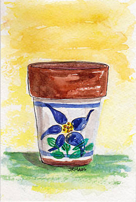 Columbine Container Art Print
