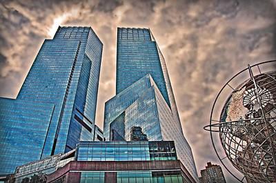 Photograph - Columbus Circle by Hanny Heim