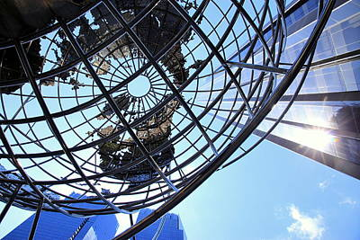 Photograph - Columbus Circle Vertical by Valentino Visentini