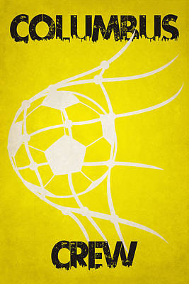 Columbus Crew Goal Art Print by Joe Hamilton