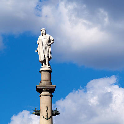 Photograph - Columbus In The Clouds by Cornelis Verwaal