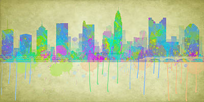 Digital Art - Columbus Ohio by Paulette B Wright