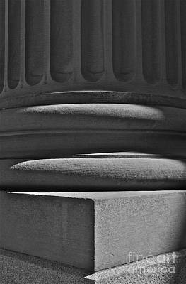 Art Print featuring the photograph Column 1 by Linda Bianic