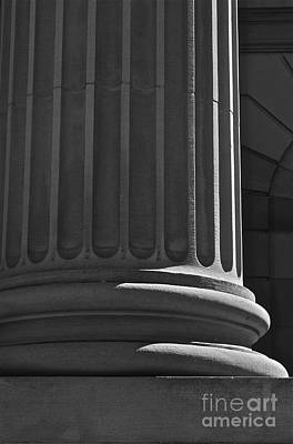 Art Print featuring the photograph Column 2 by Linda Bianic