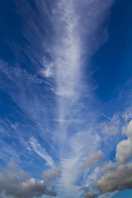 Photograph - Column Cloud by David Pyatt
