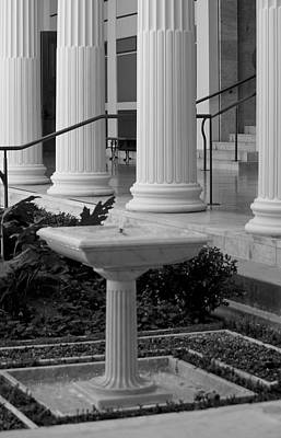 Column Entrance Print by Ivete Basso Photography