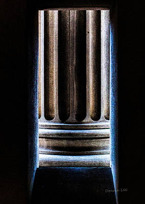 Photograph - Column Number Nine  by Donna Lee