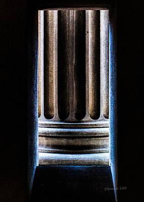 Column Number Nine  Art Print