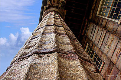 Photograph - Column by Tom Culver