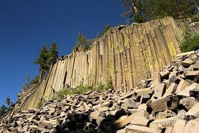 Photograph - Columnar Basalt by Adam Jewell