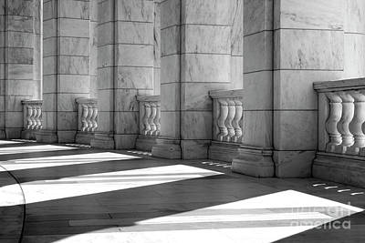 Photograph - Columns And Shadows by Paul W Faust -  Impressions of Light