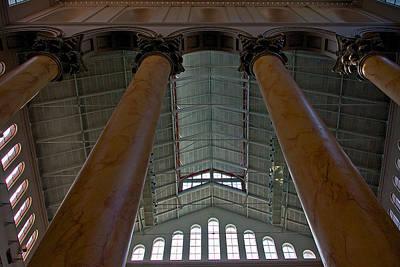 Photograph - Columns And Windows by Stuart Litoff