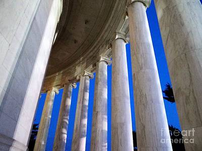 Photograph - Columns At Dusk by Ed Weidman