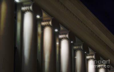 Accountability Photograph - Columns by Eduardo Mora