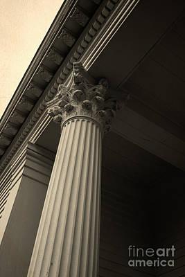 Columns Art Print by Edward Fielding