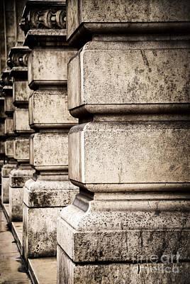 Bas Relief Photograph - Columns by Elena Elisseeva