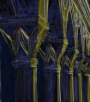 Digital Art - Columns by Ian  MacDonald