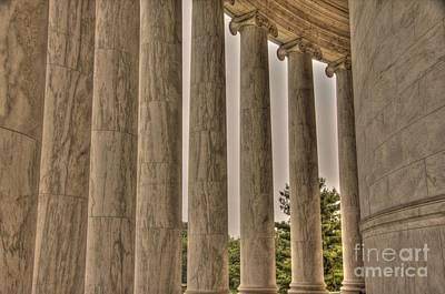 Photograph - Columns by Jonathan Harper