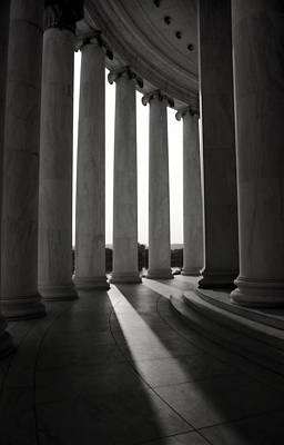 Photograph - Columns Of The Thomas Jefferson Memorial by Greg and Chrystal Mimbs