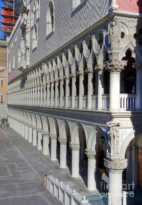 Photograph - Columns Of Venetian by David Bearden