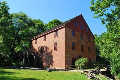Photograph - Colvin Run Grist Mill by Bob Sample