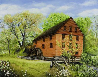 Colvin Run Mill Great Falls Va On A Spring Afternoon Original