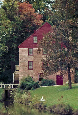 Colvin Run Mill Art Print