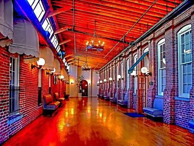 Interior  The Galleria Red Bank    Art Print