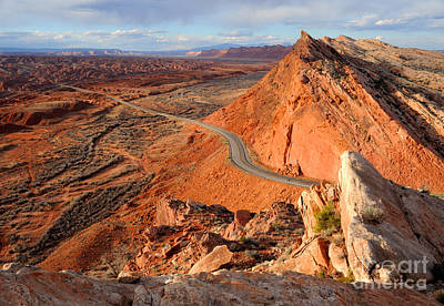 Comb Ridge At Sunset - Bluff - Utah Art Print by Gary Whitton