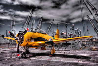 Photograph - Combat Plane by Kyle Simpson