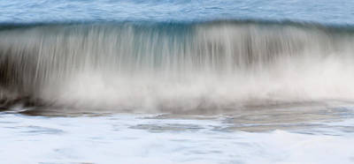 Photograph - Mediterranean Wave Ready To Deco Your Wall So Beautiful To Get Lost In It - Combing Sea by Pedro Cardona